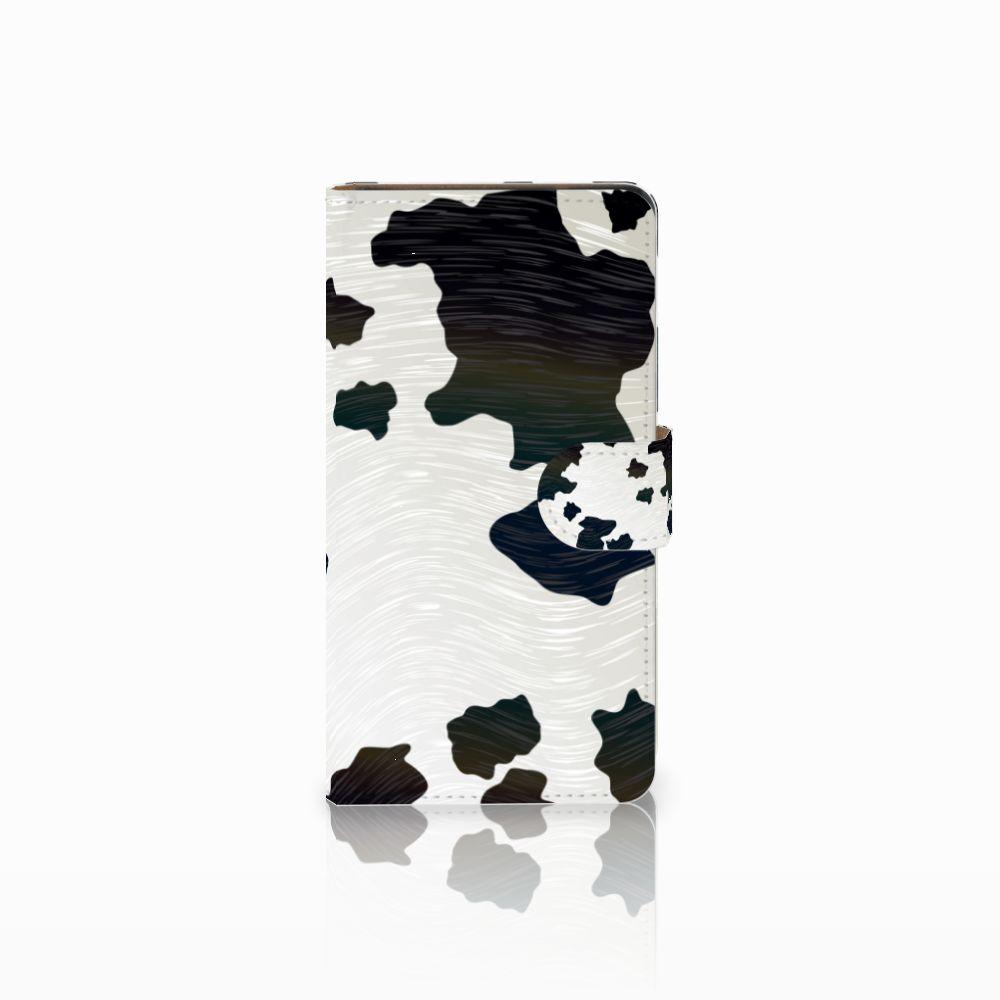 Huawei Ascend G700 Boekhoesje Design Koeienvlekken