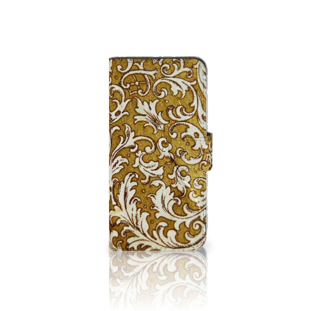Samsung Galaxy S6 | S6 Duos Boekhoesje Design Barok Goud