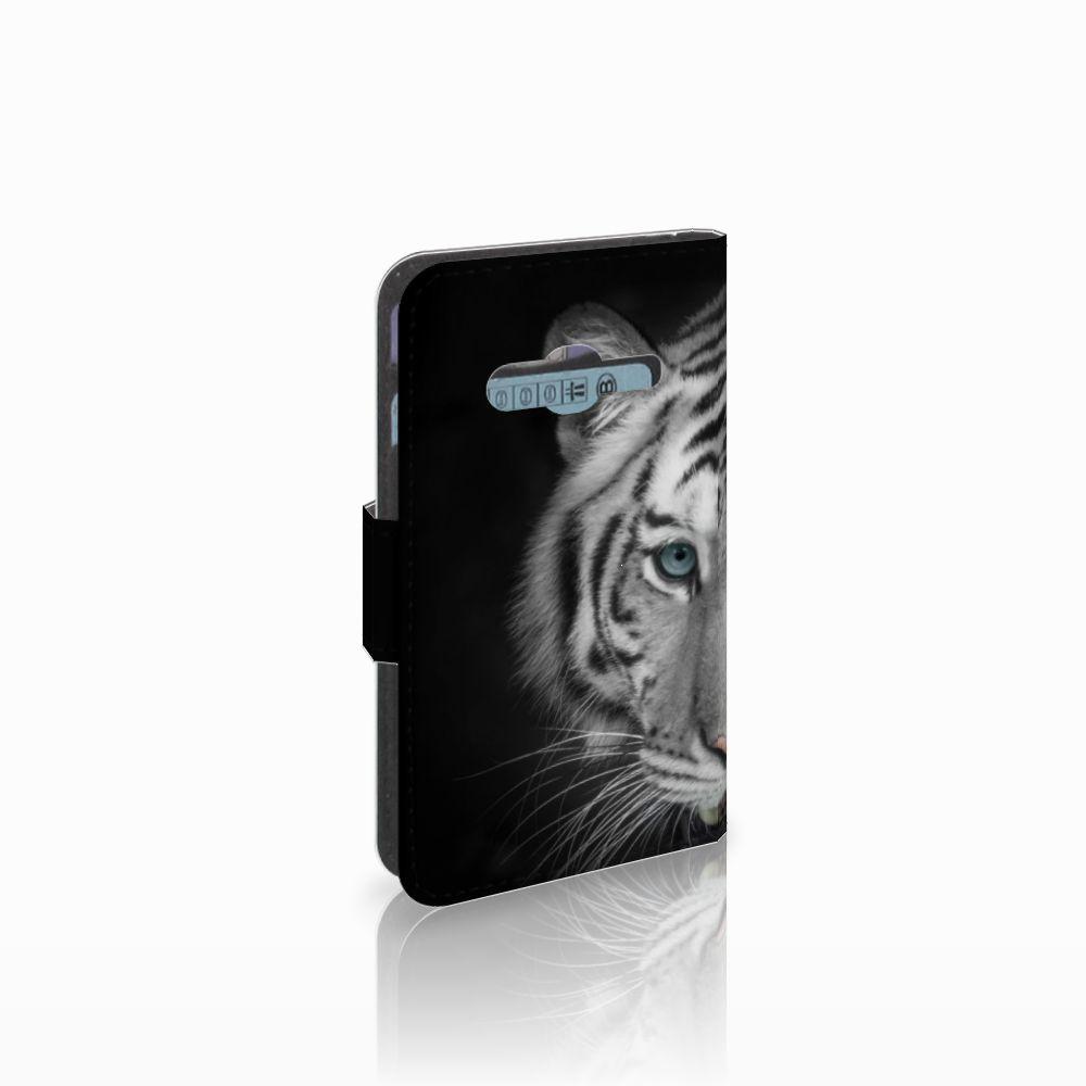 Samsung Galaxy Trend 2 Uniek Boekhoesje Tijger
