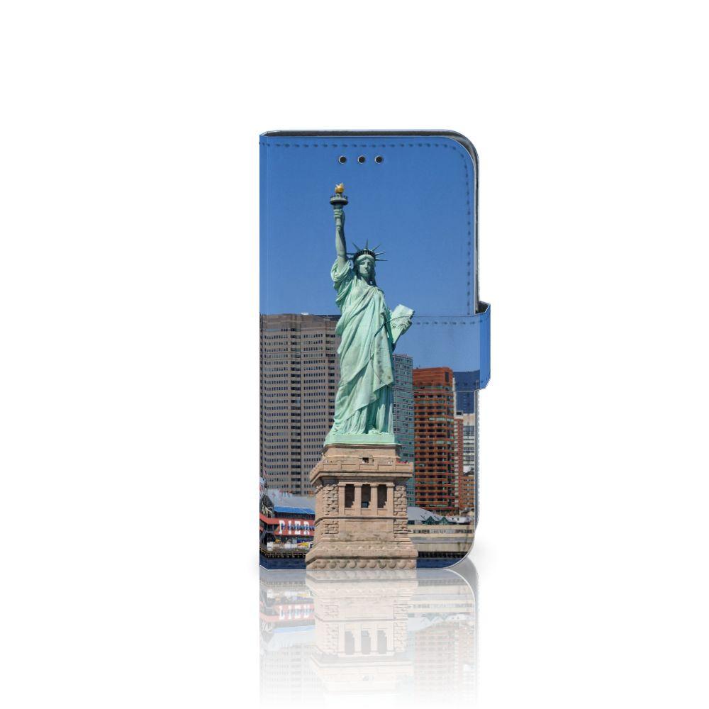Samsung Galaxy J3 2017 Uniek Boekhoesje Vrijheidsbeeld
