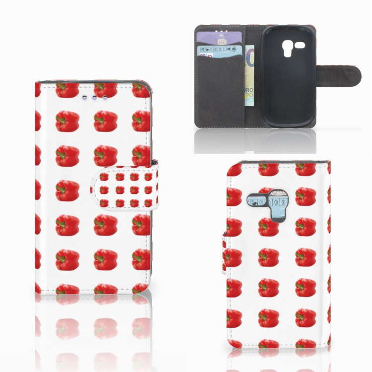 Samsung Galaxy S3 Mini Book Cover Paprika Red