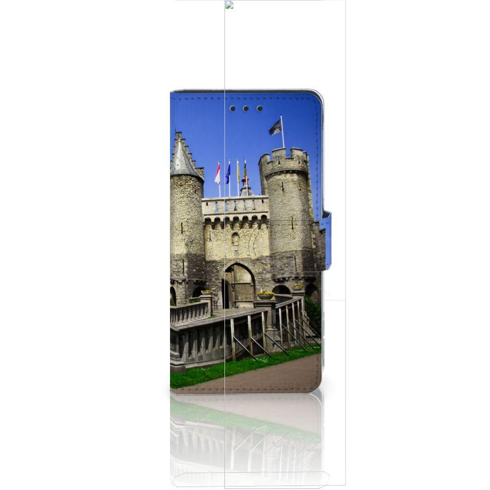 Huawei Ascend P8 Lite Flip Cover Kasteel