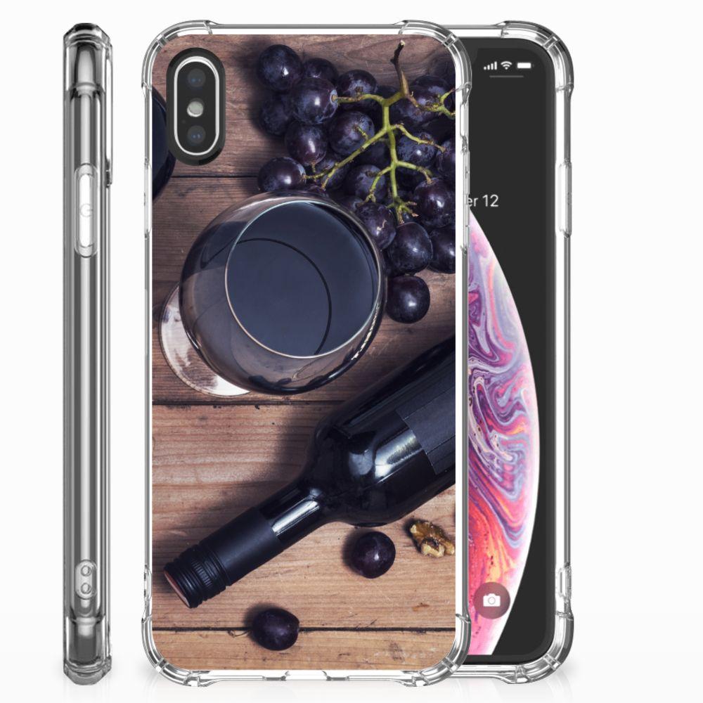 Apple iPhone X | Xs Beschermhoes Wijn