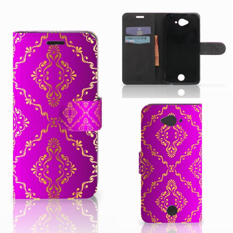 Wallet Case Acer Liquid Z530 | Z530s Barok Roze