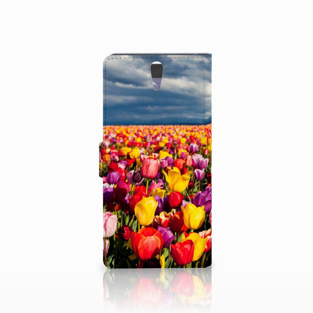Sony Xperia C5 Ultra Hoesje Tulpen
