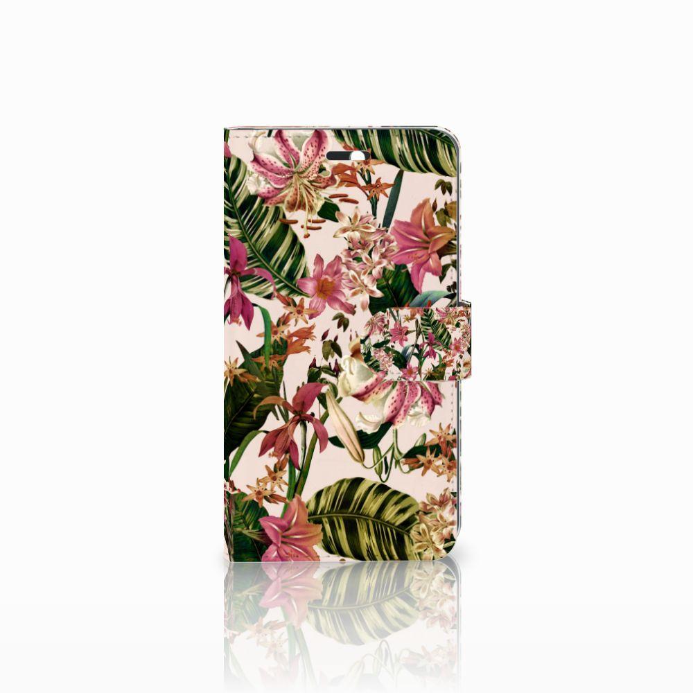 Huawei Y6 II | Honor 5A Uniek Boekhoesje Flowers