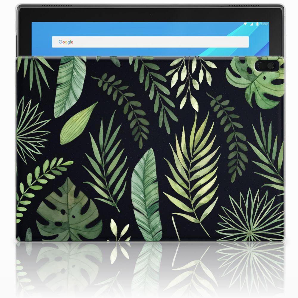 Lenovo Tab 4 10.1 Uniek Tablethoesje Leaves