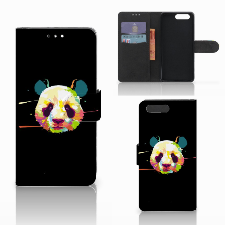Honor 9 Leuke Hoesje Panda Color