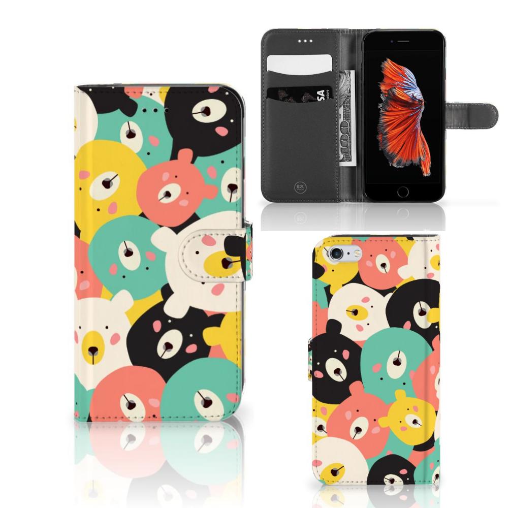 Apple iPhone 6 Plus   6s Plus Leuke Hoesje Bears