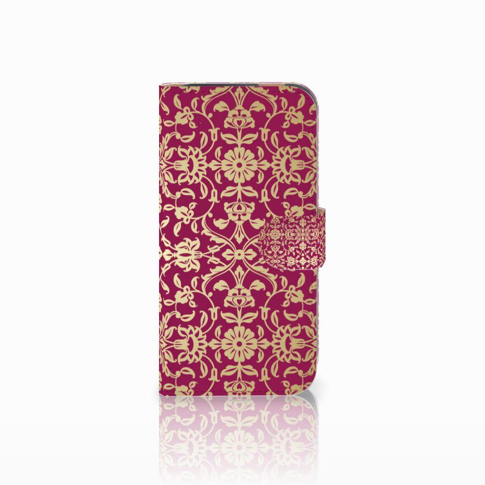 HTC One M8 Boekhoesje Design Barok Pink