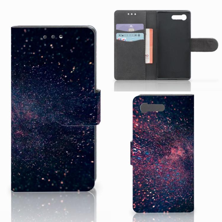 Sony Xperia X Compact Bookcase Stars