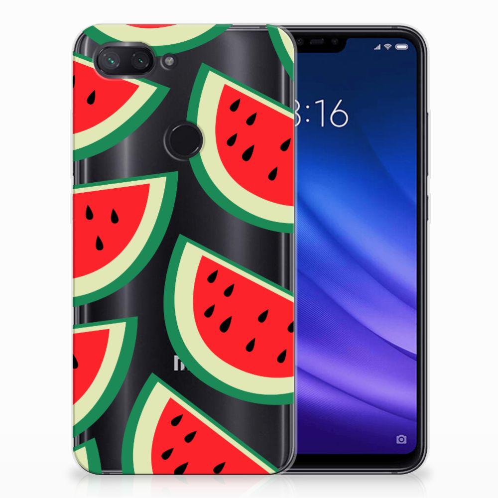Xiaomi Mi 8 Lite Siliconen Case Watermelons