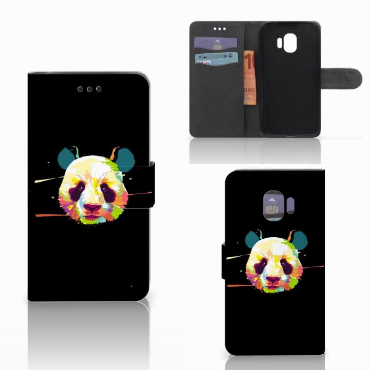 Samsung Galaxy J2 Pro 2018 Leuke Hoesje Panda Color
