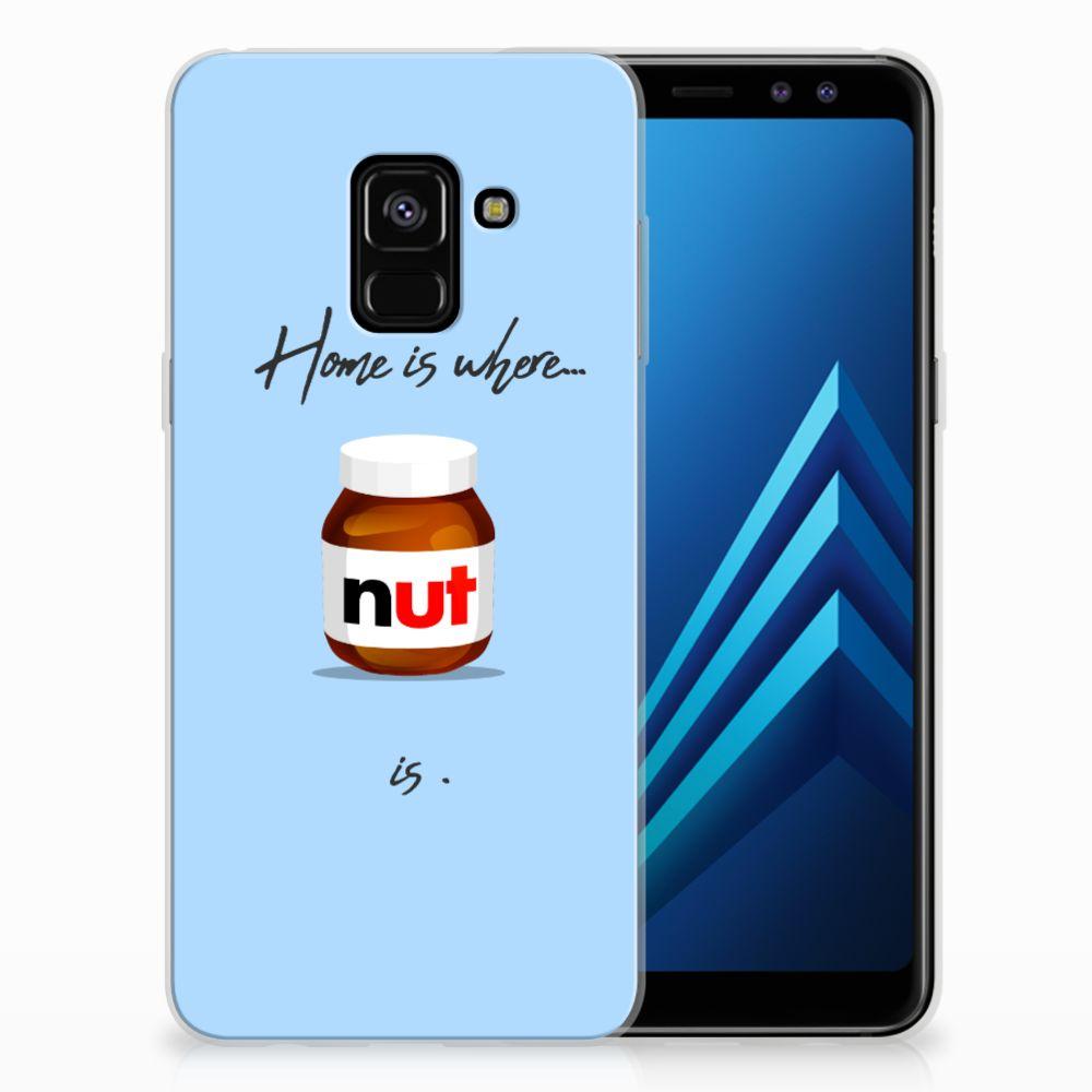 Samsung Galaxy A8 (2018) Siliconen Case Nut Home