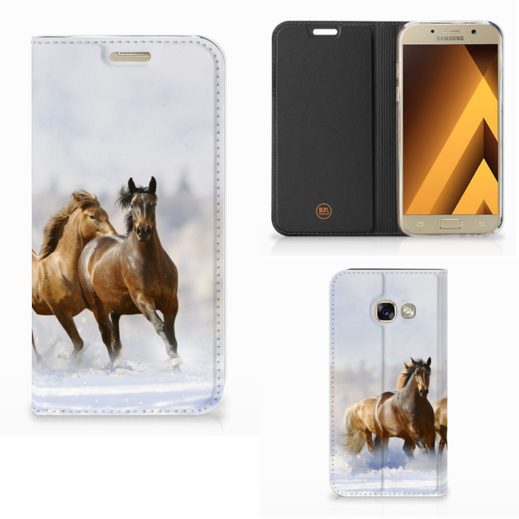 Samsung Galaxy A3 2017 Hoesje maken Paarden