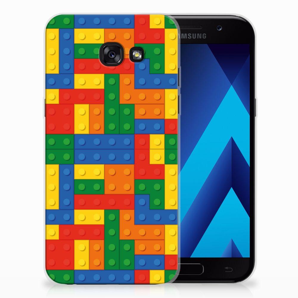 Samsung Galaxy A5 2017 TPU Hoesje Design Blokken