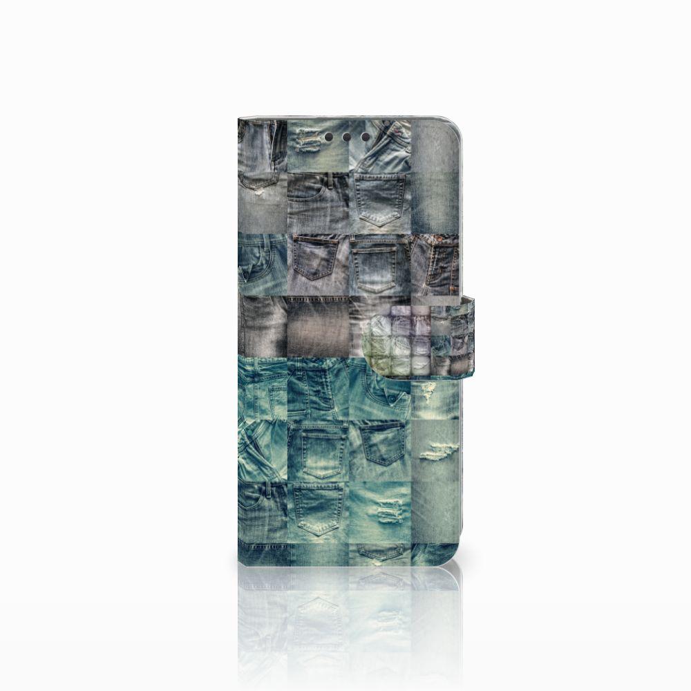 Sony Xperia Z5 Premium Uniek Boekhoesje Spijkerbroeken