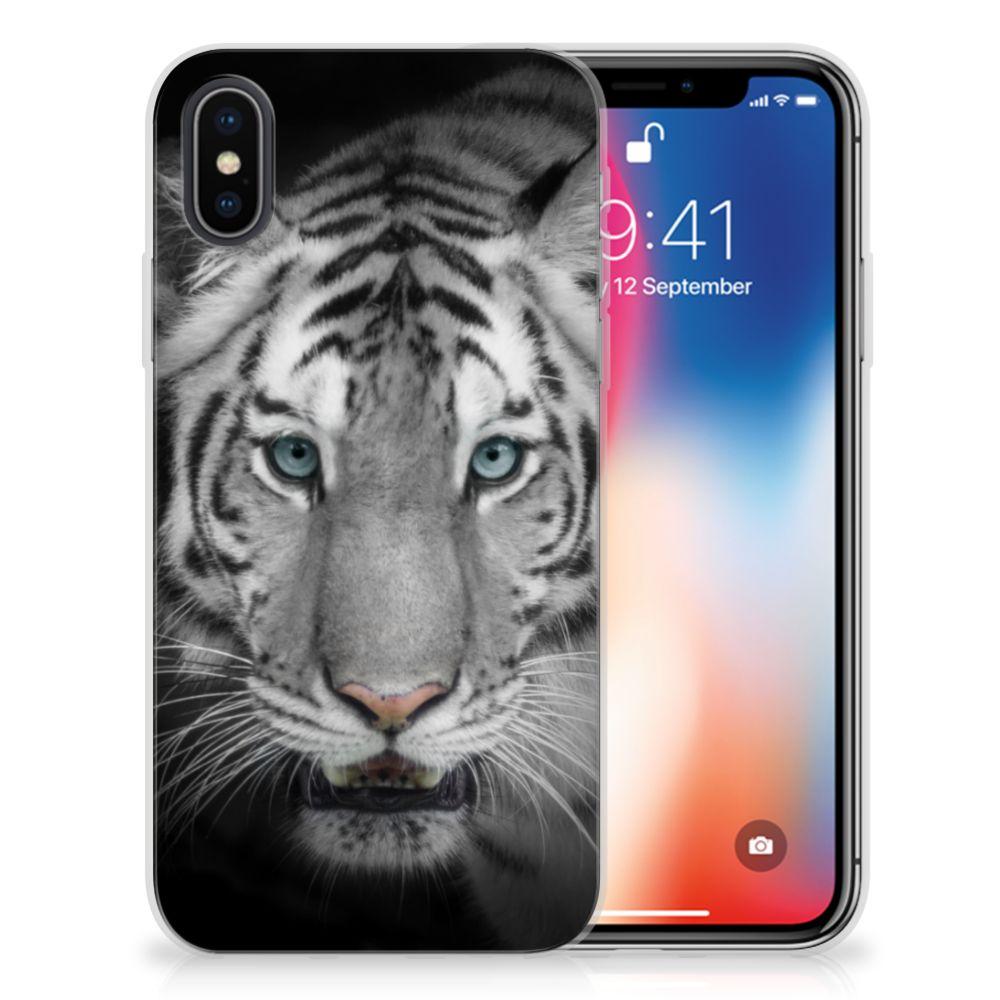 Apple iPhone X | Xs Uniek TPU Hoesje Tijger