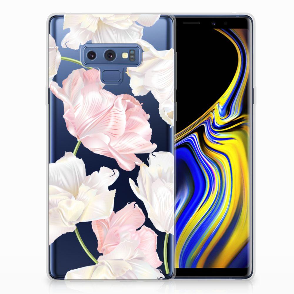 Samsung Galaxy Note 9 TPU Hoesje Design Lovely Flowers