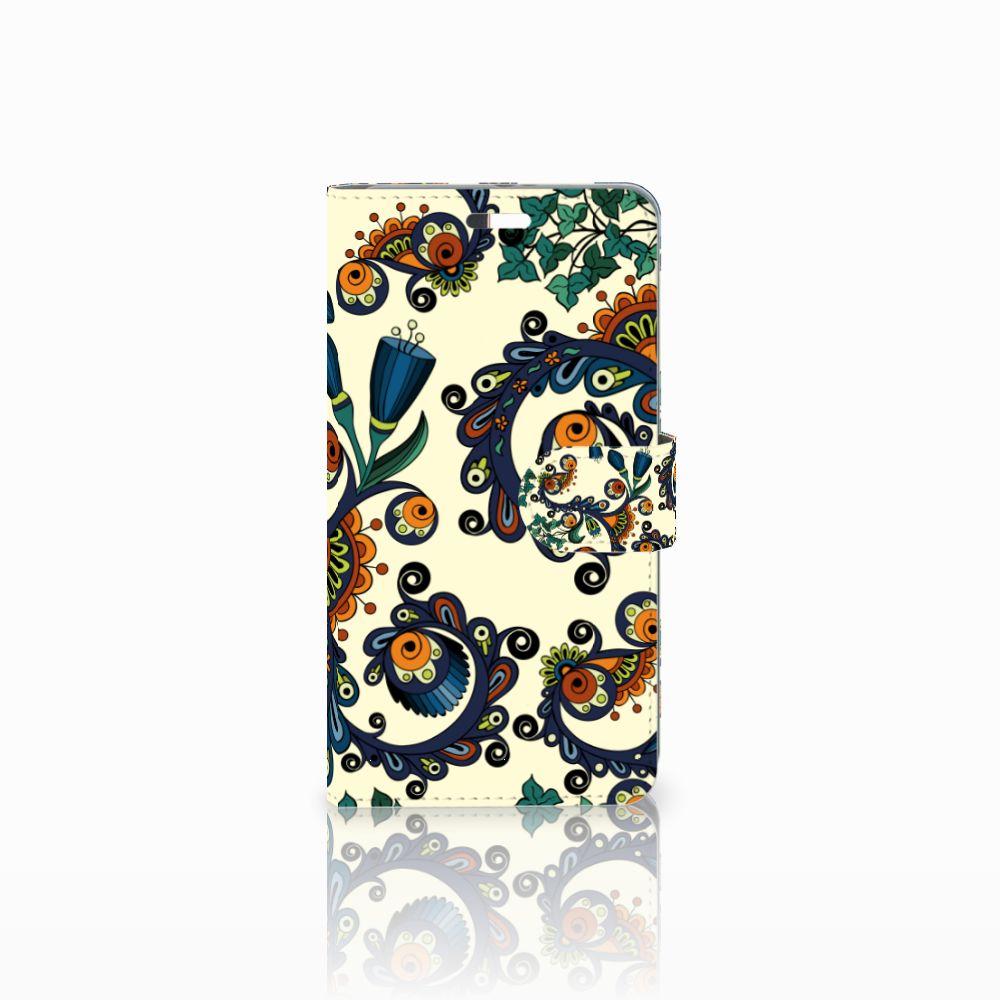 Wallet Case Huawei P9 Plus Barok Flower