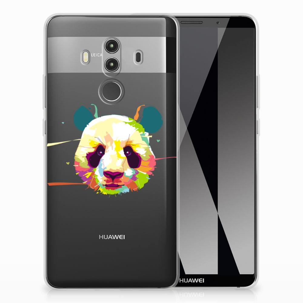 Huawei Mate 10 Pro TPU Hoesje Design Panda Color