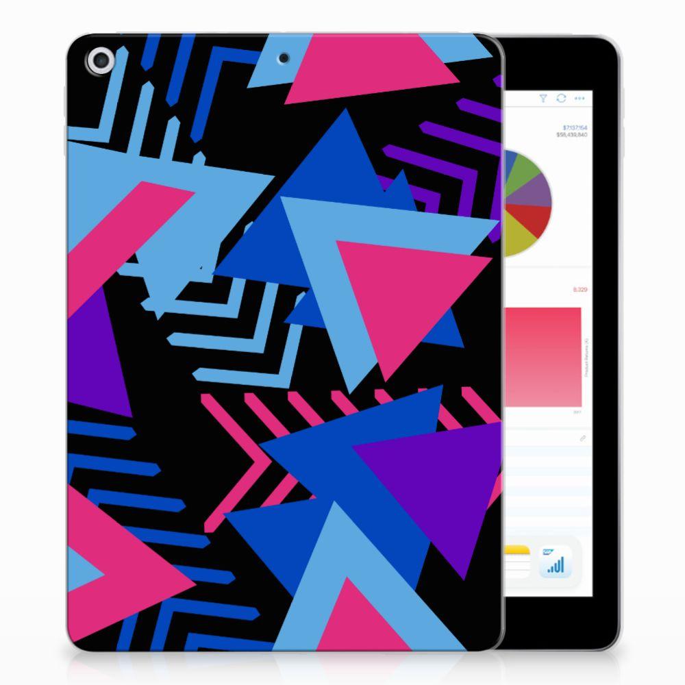 Apple iPad 9.7 2018 | 2017 Back Cover Funky Triangle