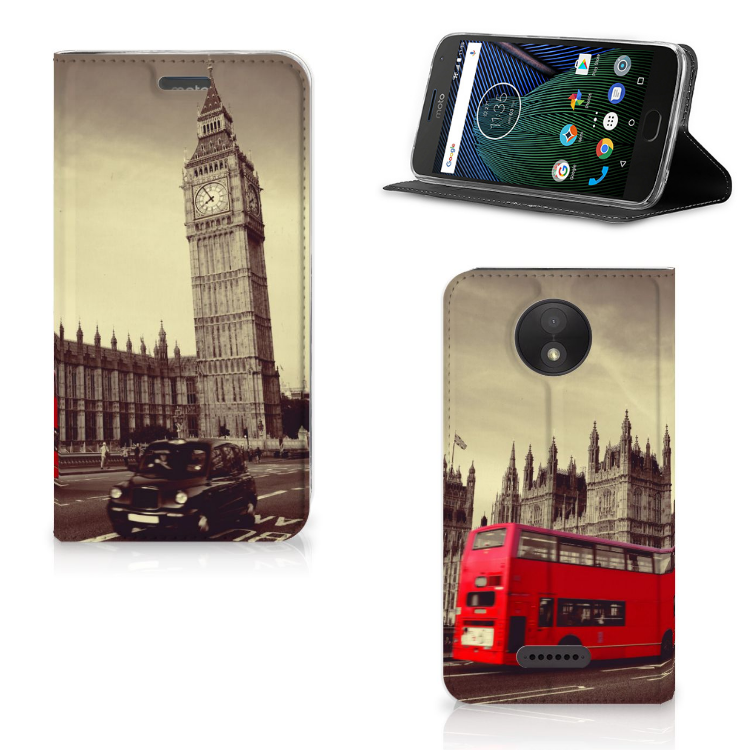 Motorola Moto C Plus Book Cover Londen