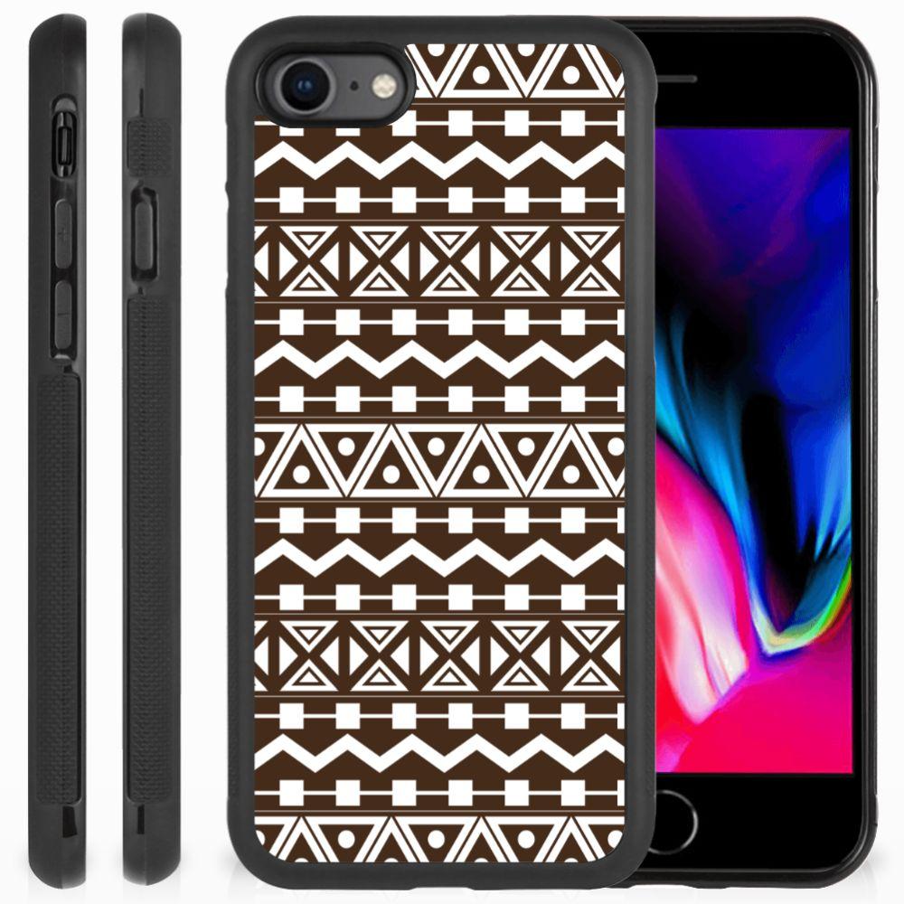 Apple iPhone 7 | 8 Bumper Case Aztec Brown