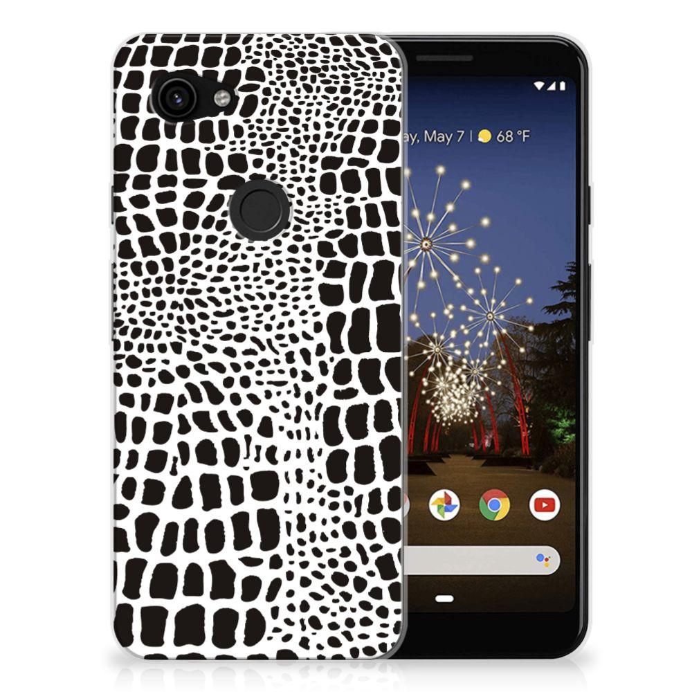 Google Pixel 3A TPU Hoesje Slangenprint
