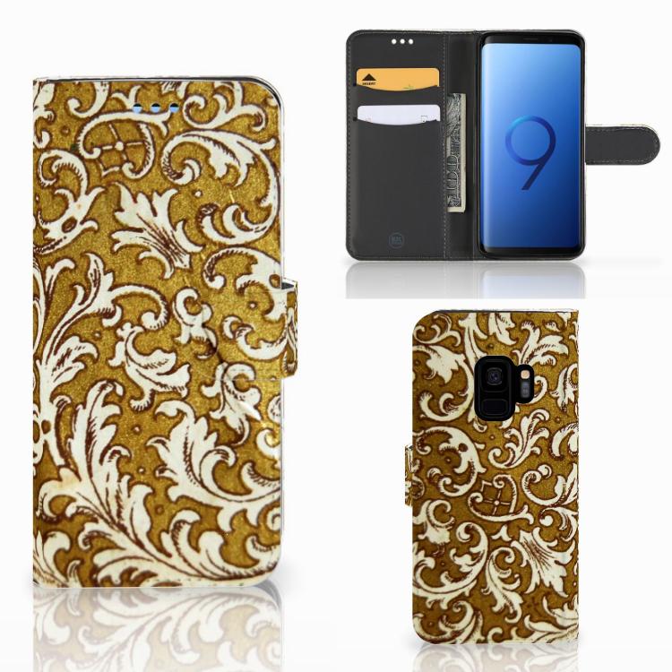 Wallet Case Samsung Galaxy S9 Barok Goud