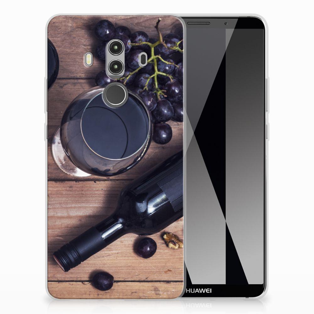 Huawei Mate 10 Pro Uniek TPU Hoesje Wijn