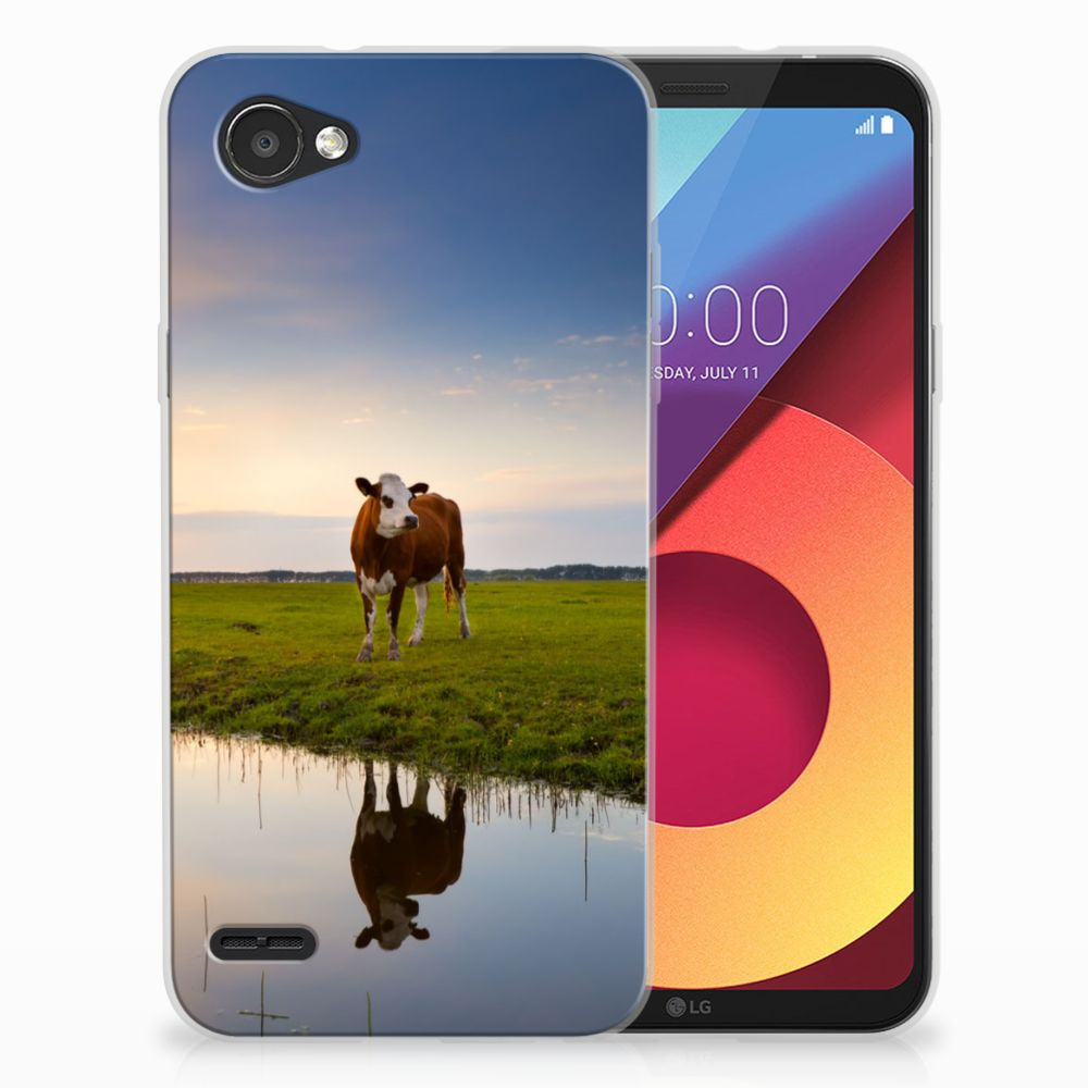 LG Q6 | LG Q6 Plus TPU Hoesje Design Koe