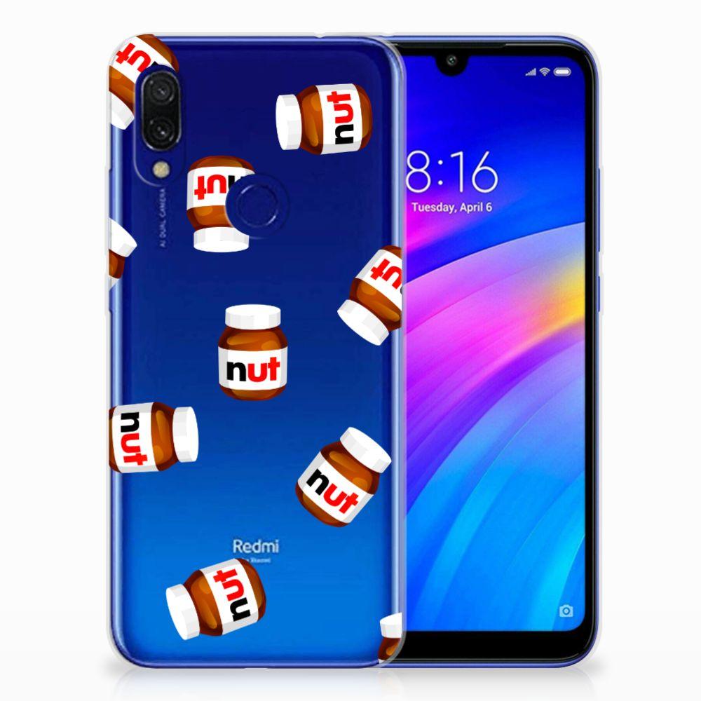 Xiaomi Redmi 7 Siliconen Case Nut Jar