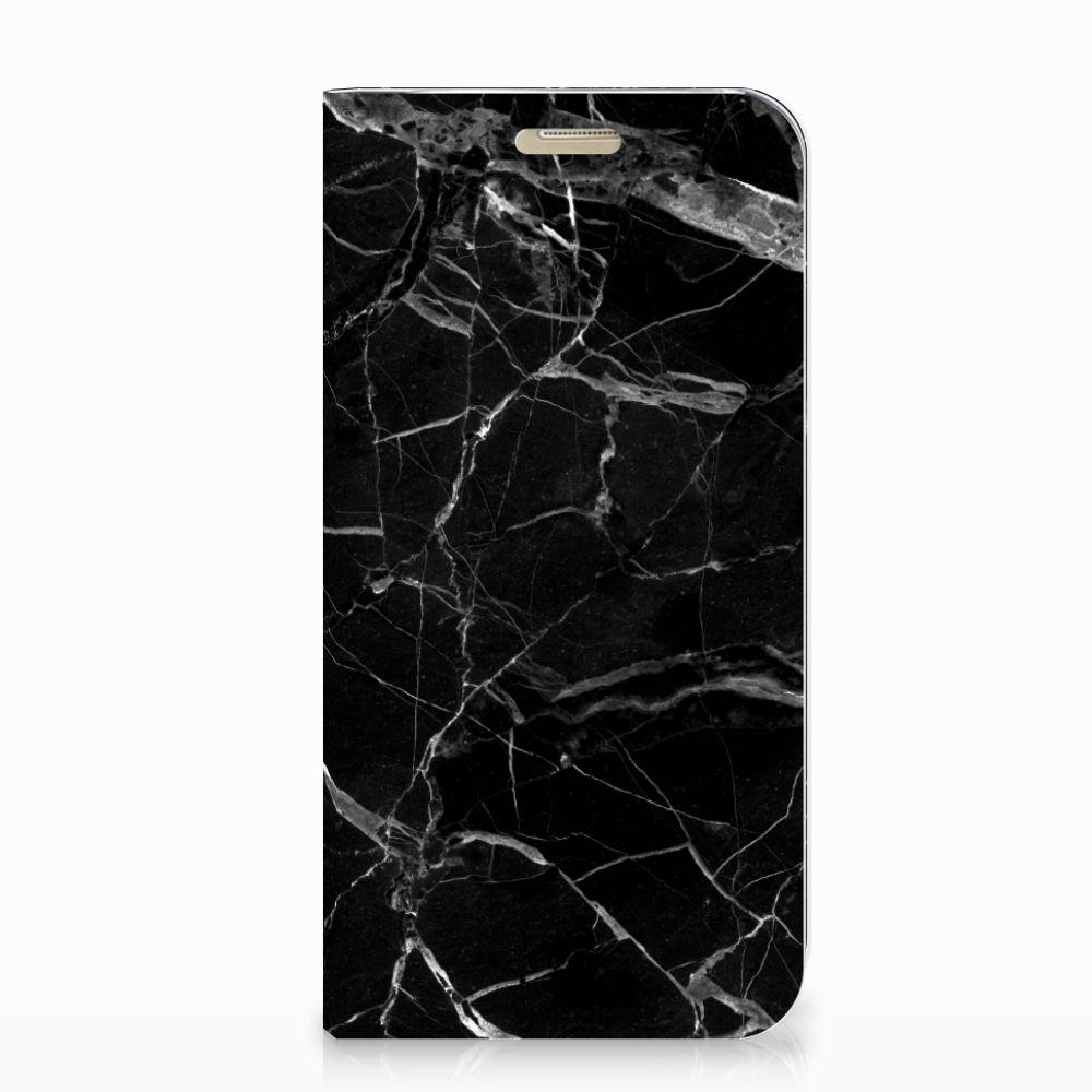 Samsung Galaxy A3 2017 Standcase Marmer Zwart