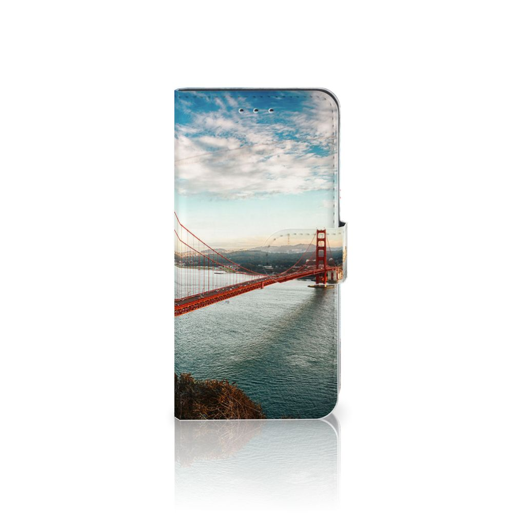 Samsung Galaxy S7 Edge Boekhoesje Design Golden Gate Bridge