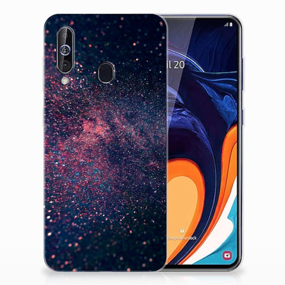 Samsung Galaxy A60 TPU Hoesje Stars