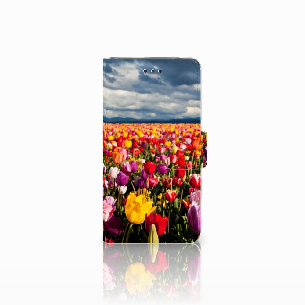 Nokia 7 Uniek Boekhoesje Tulpen