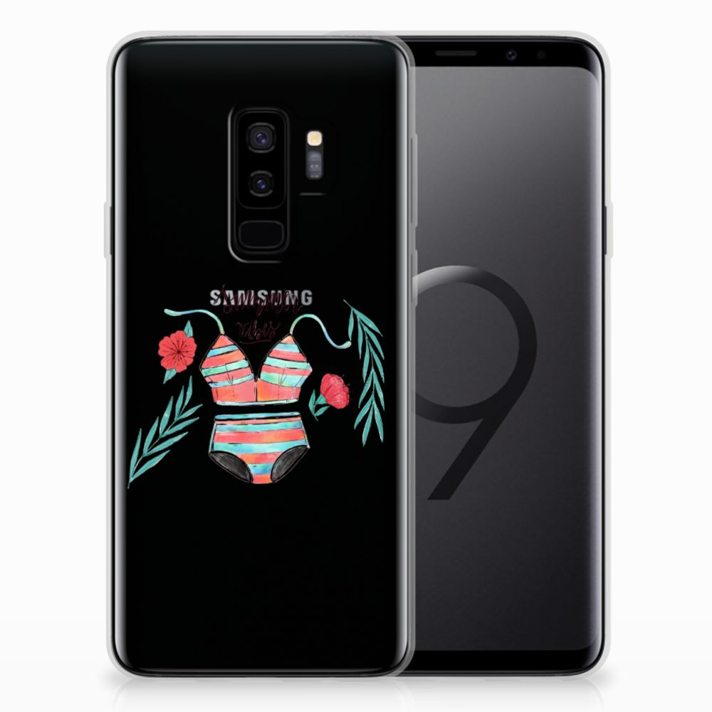 Samsung Galaxy S9 Plus Telefoonhoesje met Naam Boho Summer