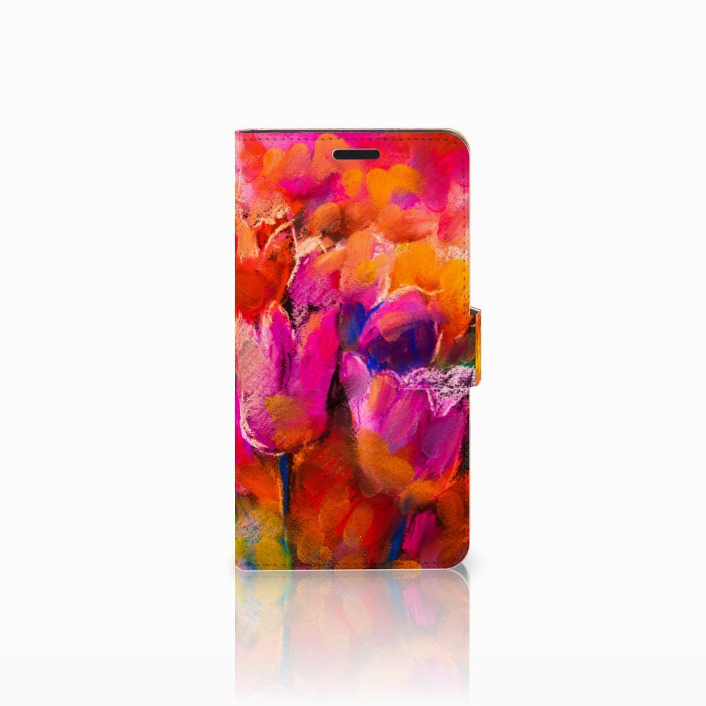 Sony Xperia T3 Boekhoesje Design Tulips
