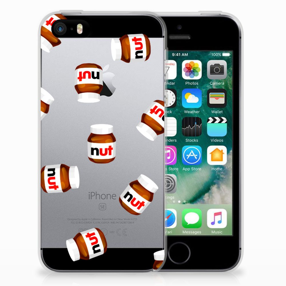 Apple iPhone SE | 5S Siliconen Case Nut Jar