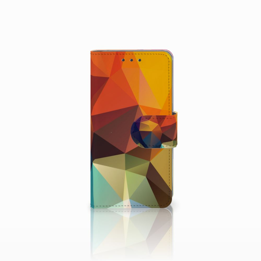 Samsung Galaxy A3 2015 Bookcase Polygon Color