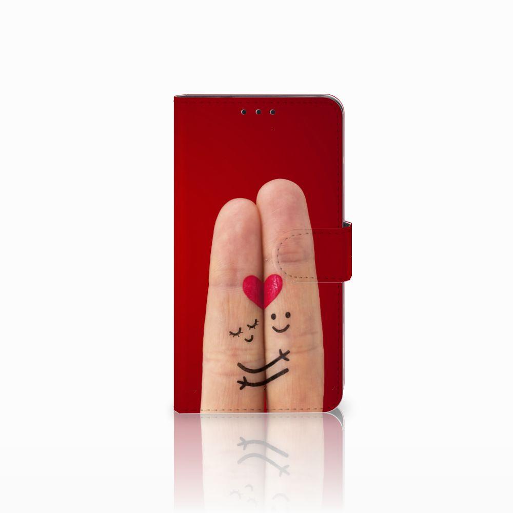 Huawei Honor 6X Uniek Boekhoesje Liefde