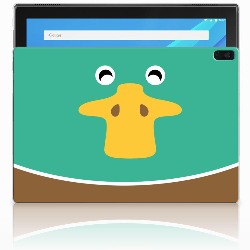 Lenovo Tab 4 10.1 Uniek Tablethoesje Duck