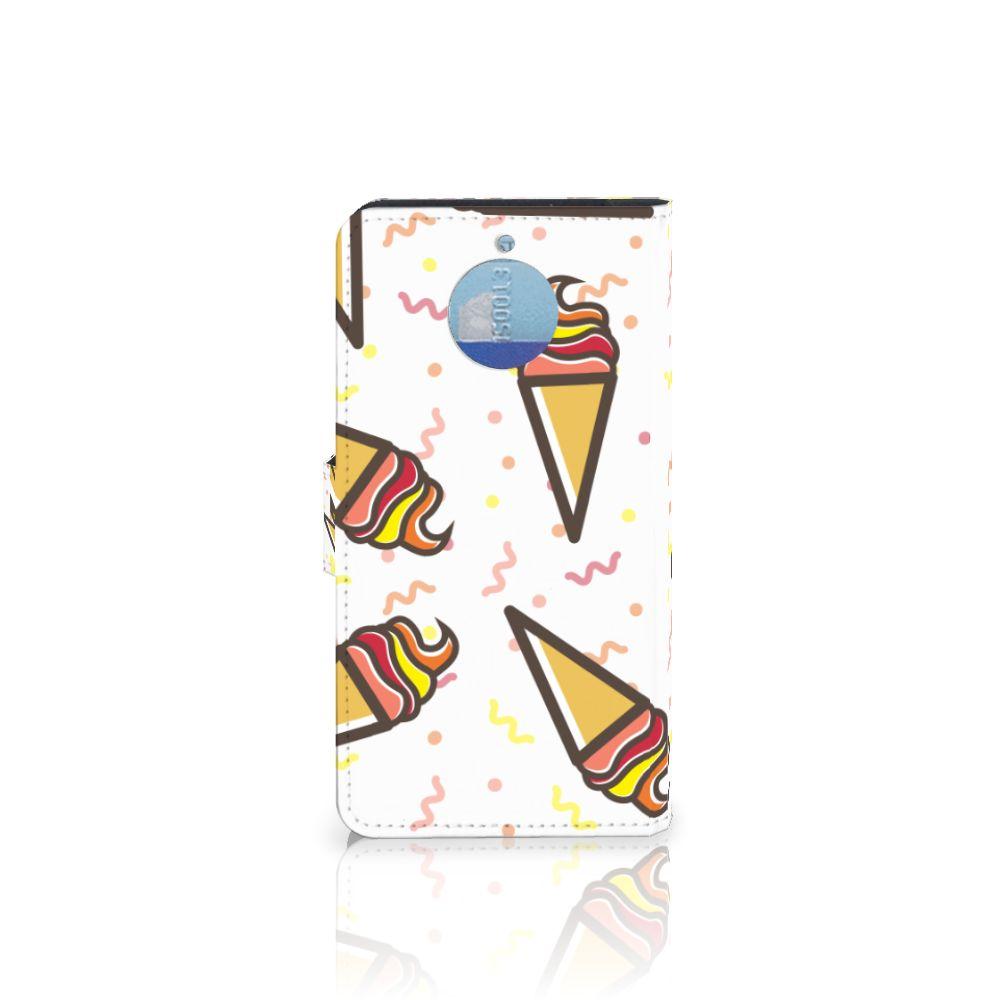 Motorola Moto G5S Plus Book Cover Icecream