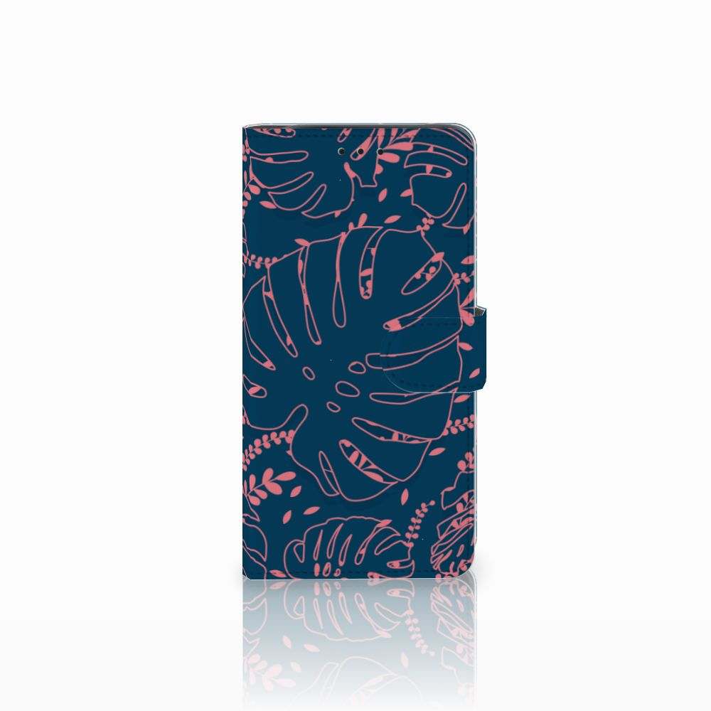 Samsung Galaxy J6 Plus (2018) Boekhoesje Design Palm Leaves