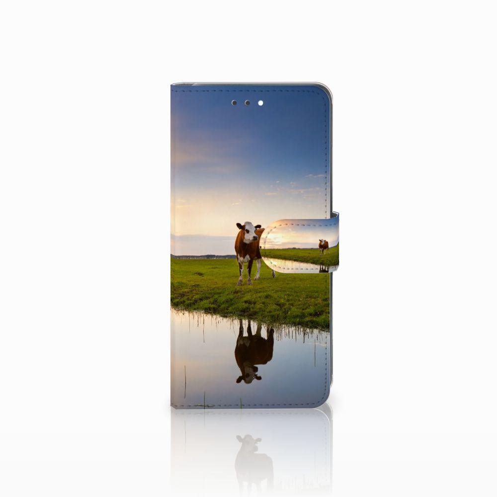 Huawei Y7 2018 Boekhoesje Design Koe