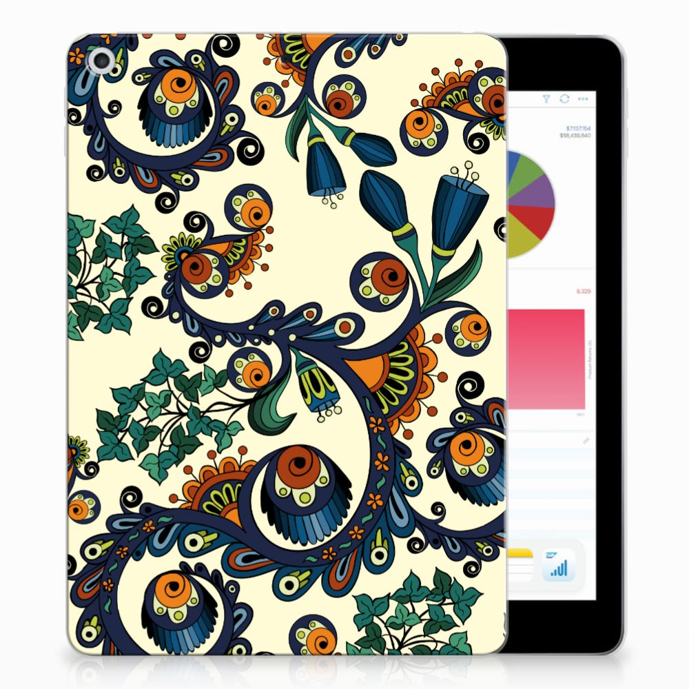 TPU Case Apple iPad 9.7 2018 | 2017 Barok Flower