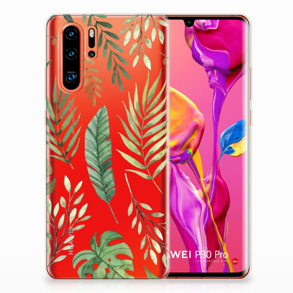 Huawei P30 Pro TPU Case Leaves