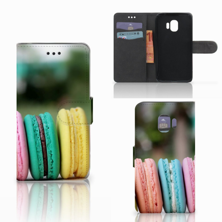 Samsung Galaxy J2 Pro 2018 Book Cover Macarons