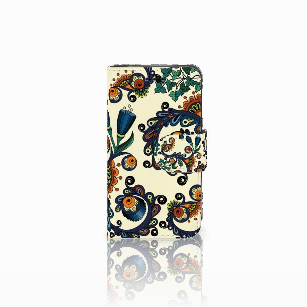 Samsung Galaxy Trend 2 Boekhoesje Design Barok Flower